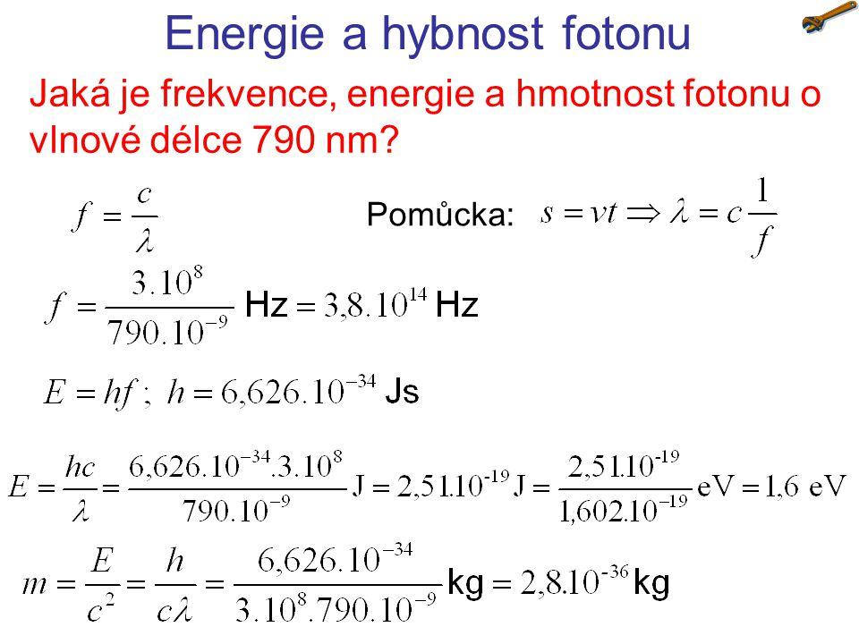 Energie a hybnost fotonu