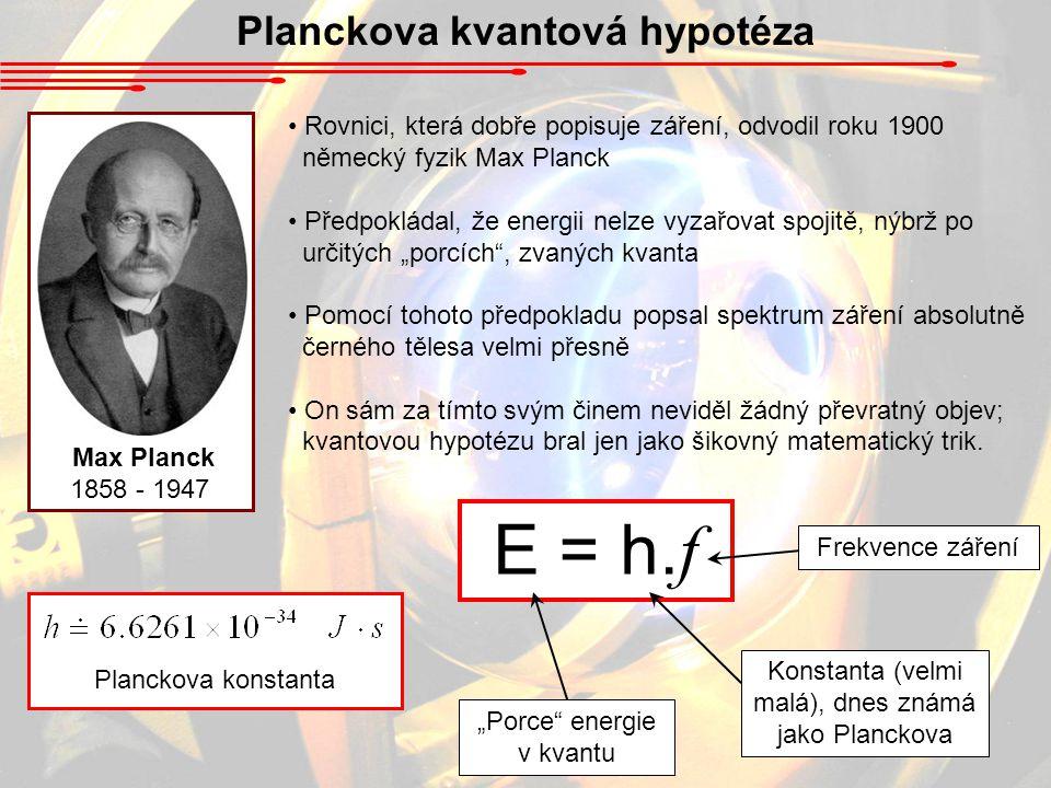 Planckova kvantová hypotéza