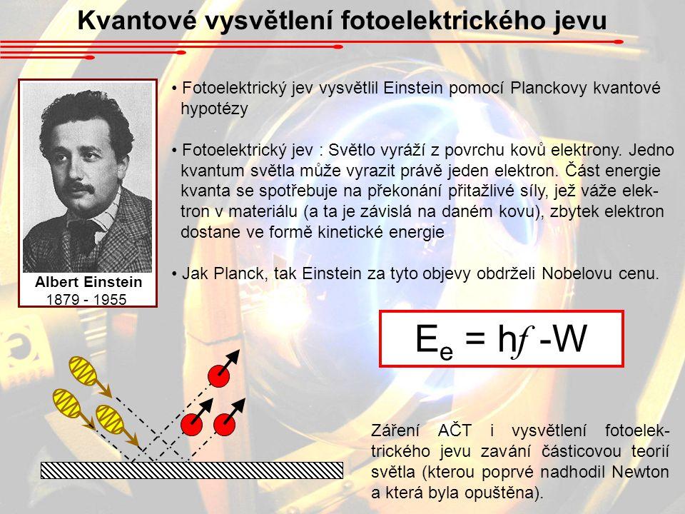 Kvantové vysvětlení fotoelektrického jevu