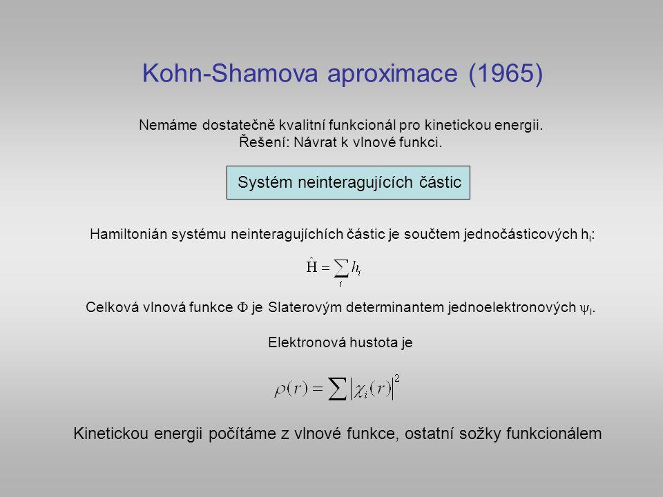 Kohn-Shamova aproximace (1965)
