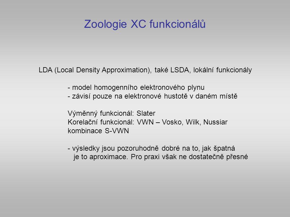Zoologie XC funkcionálů