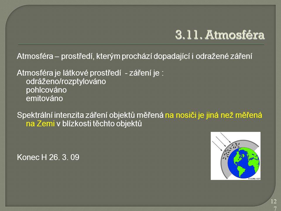 3.11. Atmosféra