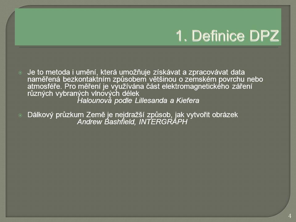 1. Definice DPZ