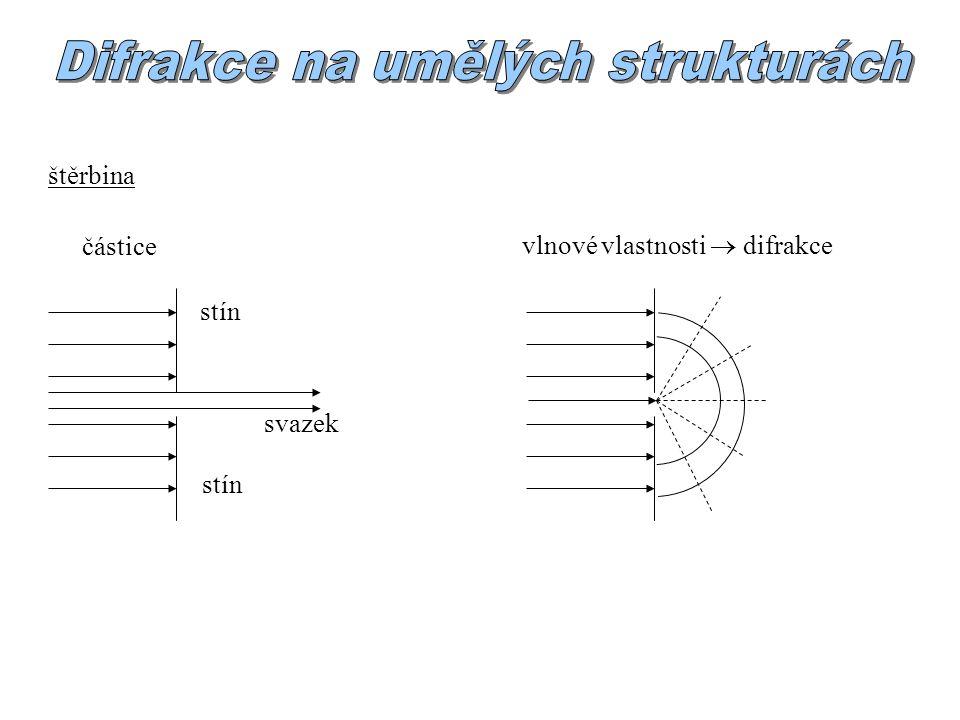 Difrakce na umělých strukturách