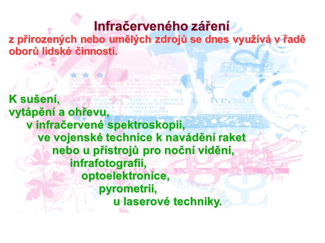 Infračerveného záření