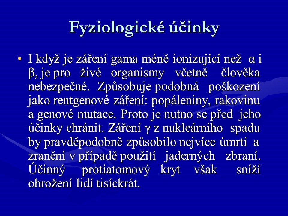 Fyziologické účinky