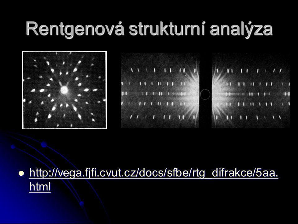 Rentgenová strukturní analýza