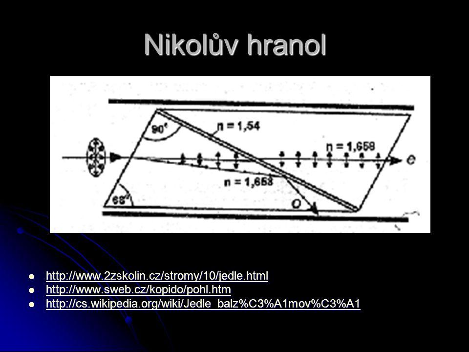 Nikolův hranol http://www.2zskolin.cz/stromy/10/jedle.html