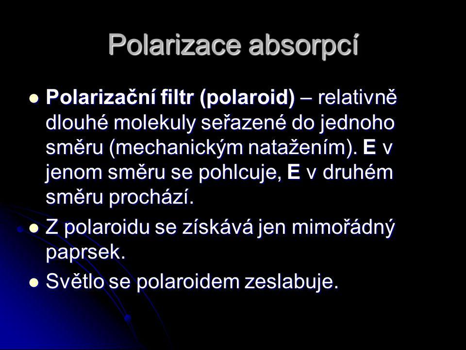 Polarizace absorpcí