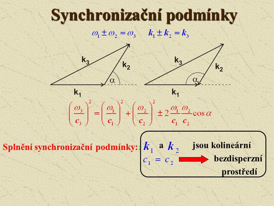 Synchronizační podmínky