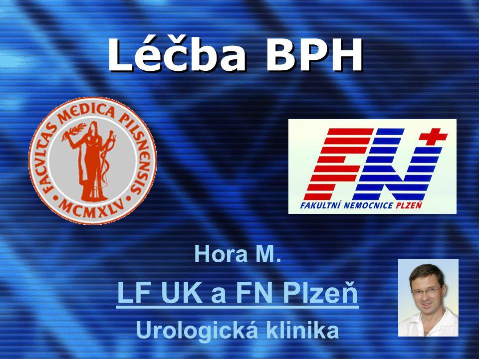 Hora M. LF UK a FN Plzeň Urologická klinika