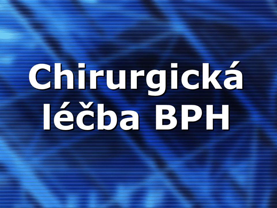 Chirurgická léčba BPH