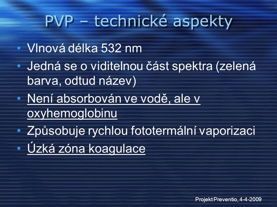 PVP – technické aspekty