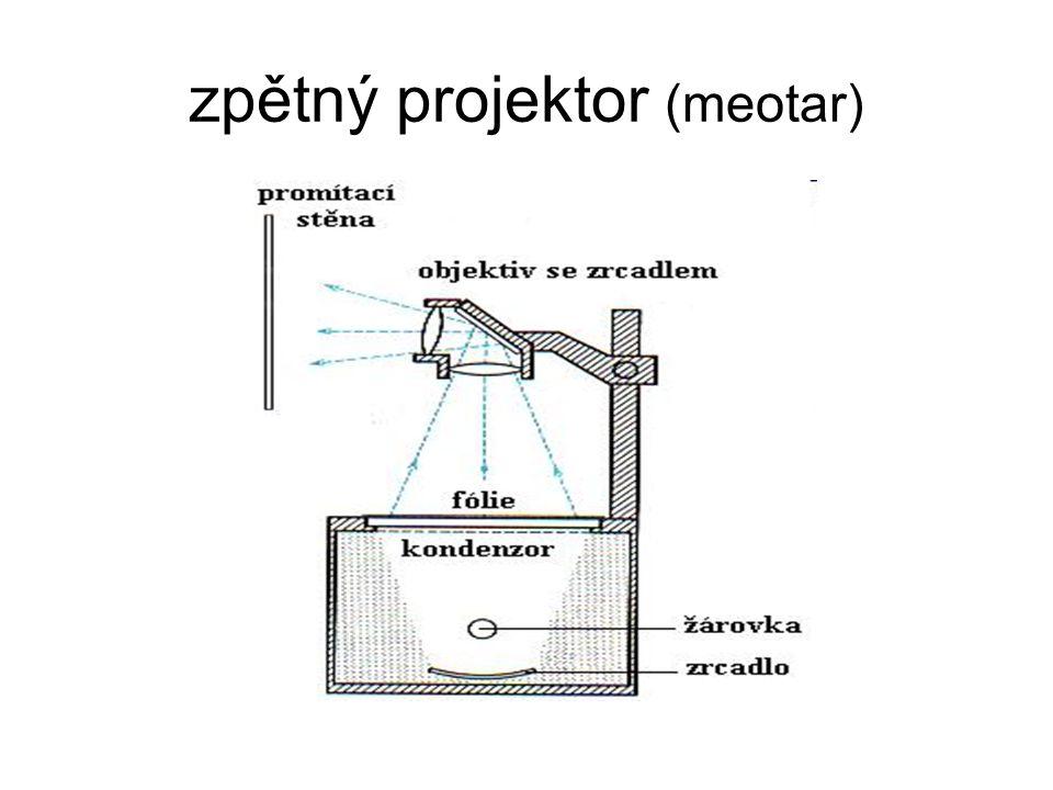 zpětný projektor (meotar)