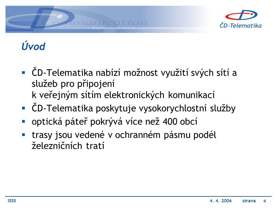 Úvod ČD-Telematika nabízí možnost využití svých sítí a služeb pro připojení k veřejným sítím elektronických komunikací.