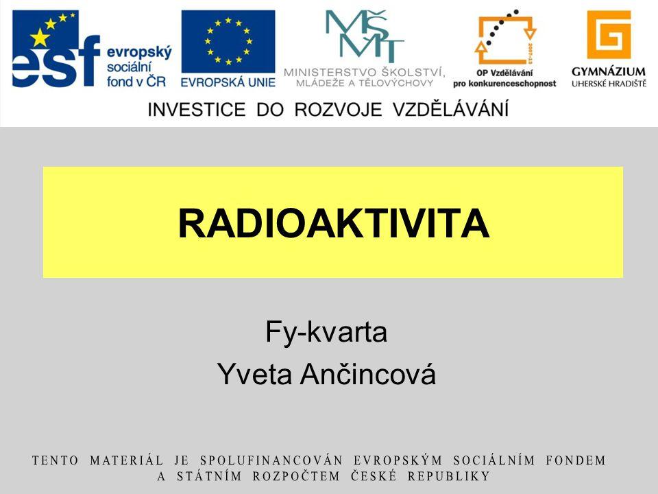 Fy-kvarta Yveta Ančincová