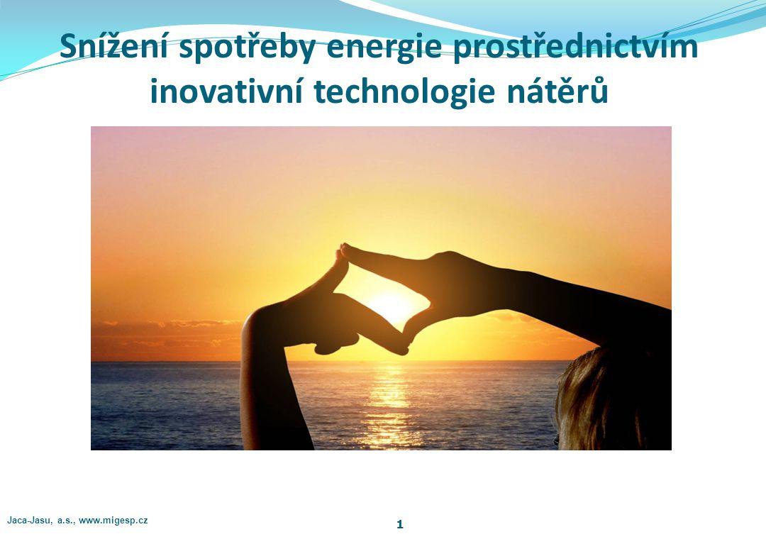 Snížení spotřeby energie prostřednictvím inovativní technologie nátěrů