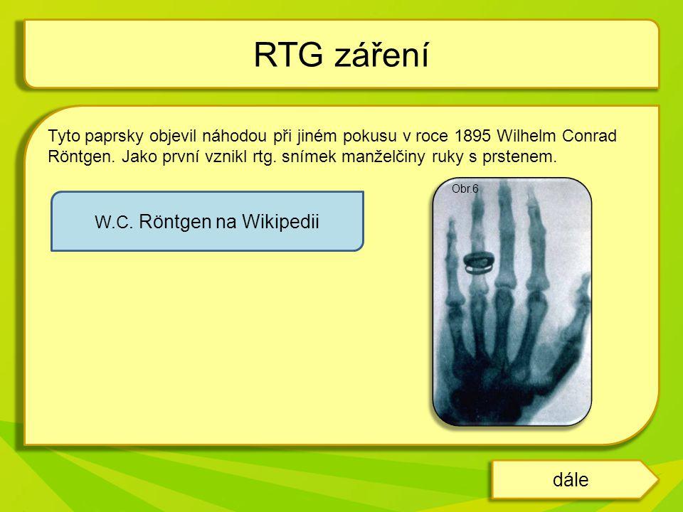 W.C. Röntgen na Wikipedii