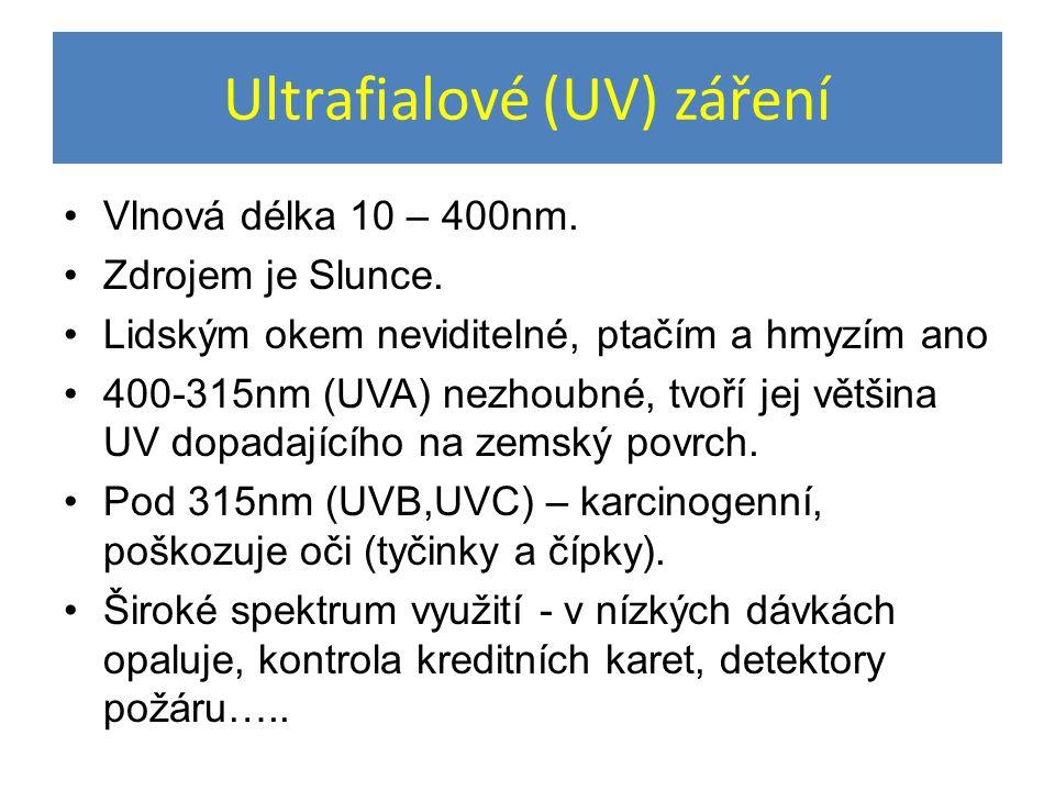Ultrafialové (UV) záření