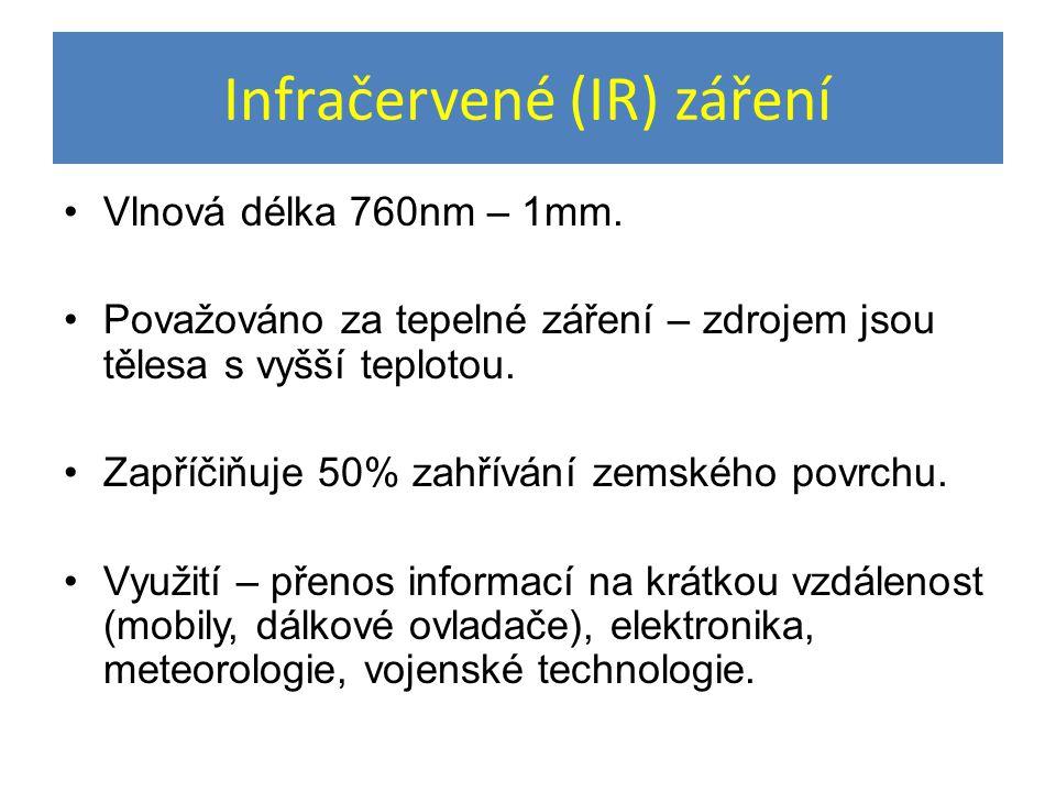 Infračervené (IR) záření