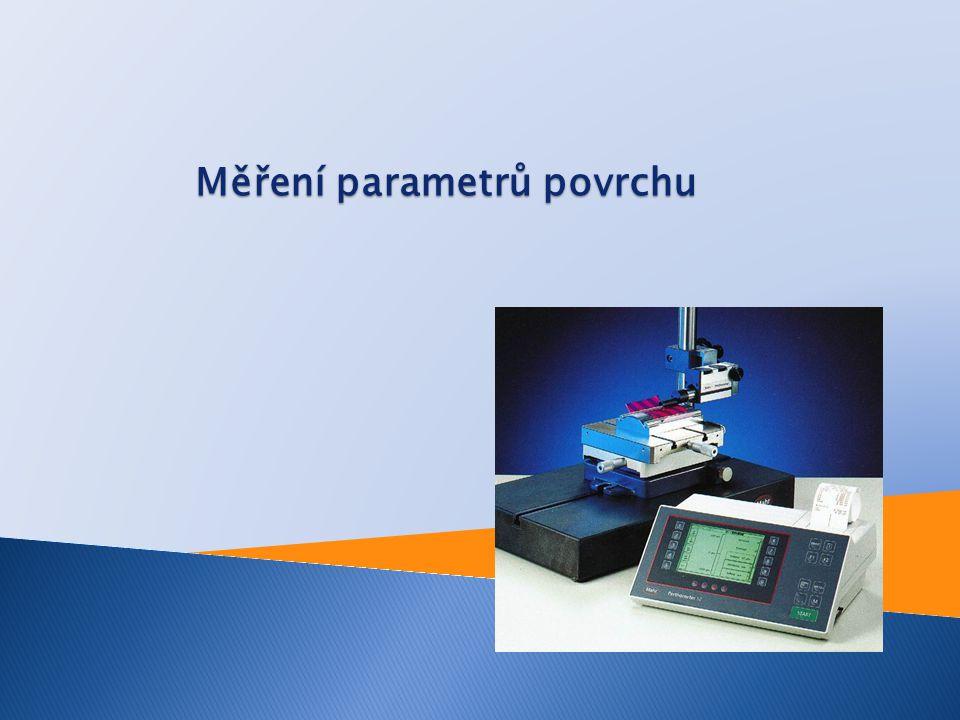 Měření parametrů povrchu