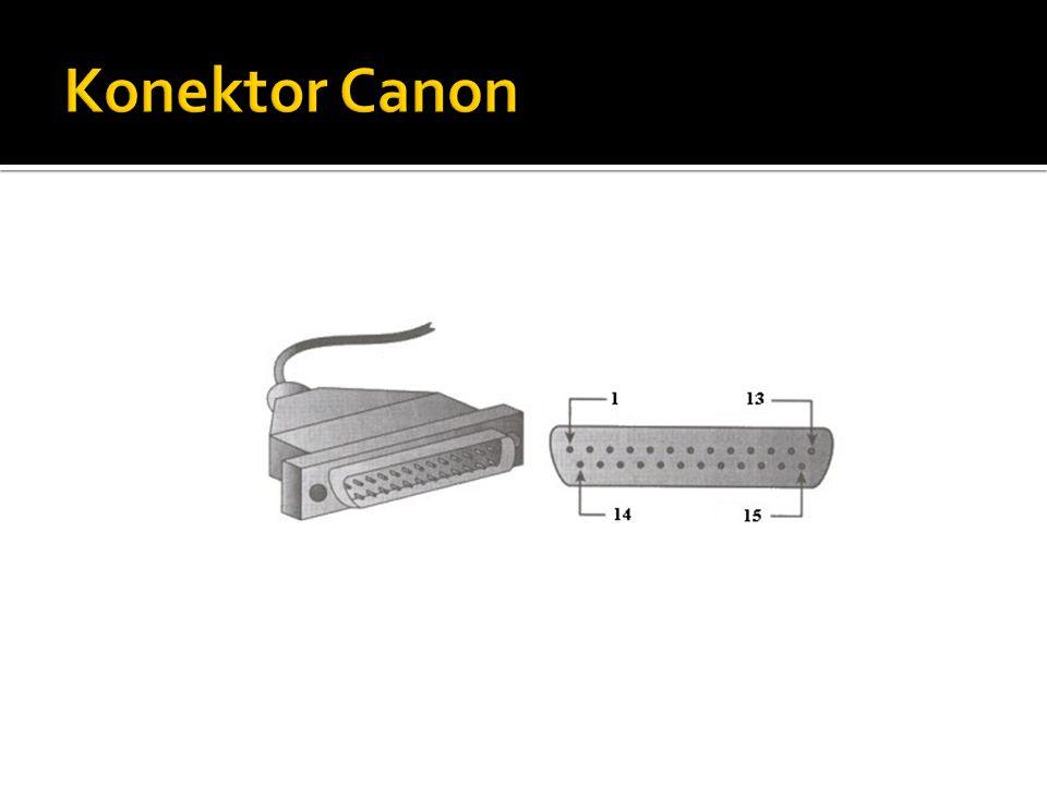 Konektor Canon