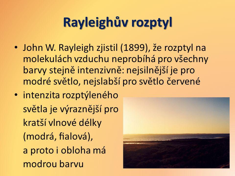 Rayleighův rozptyl