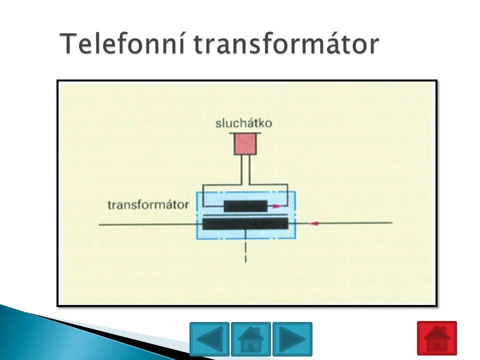 Telefonní transformátor