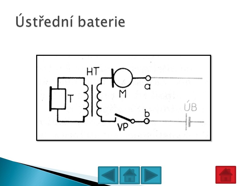 Ústřední baterie