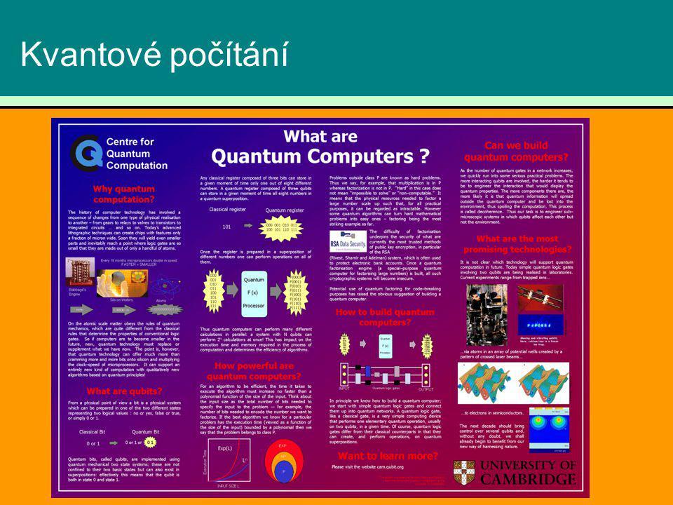 Kvantové počítání