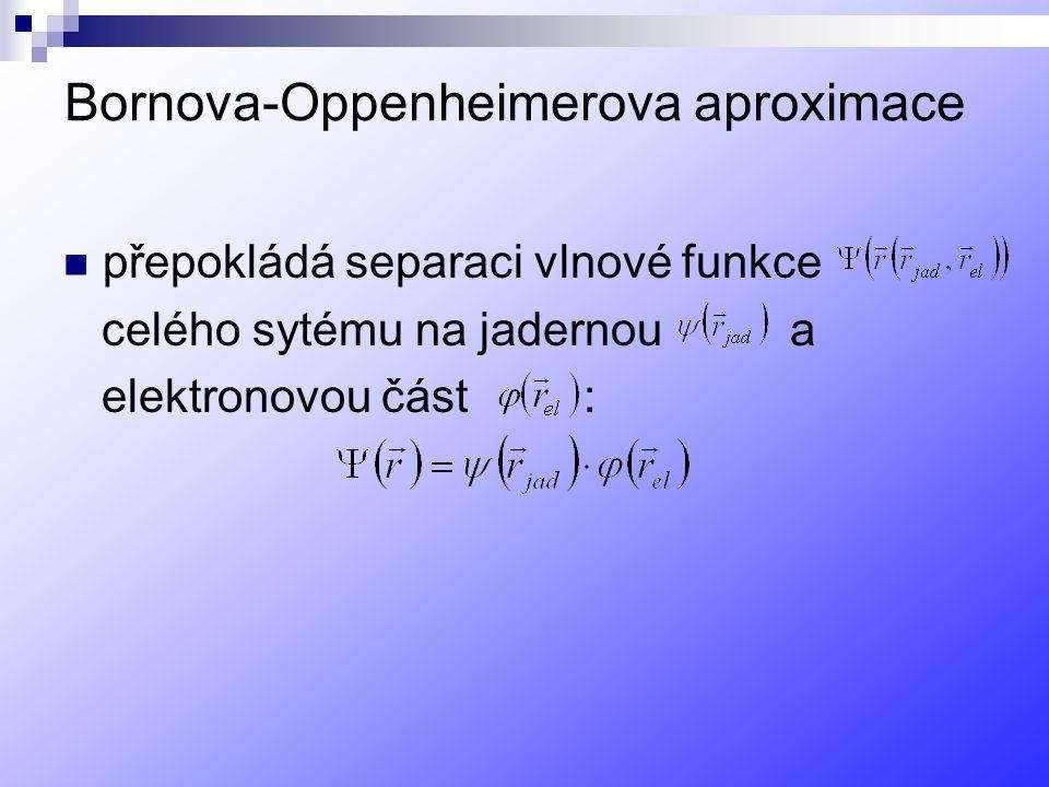 Bornova-Oppenheimerova aproximace