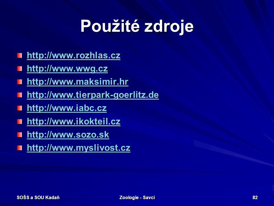 Použité zdroje http://www.rozhlas.cz http://www.wwg.cz
