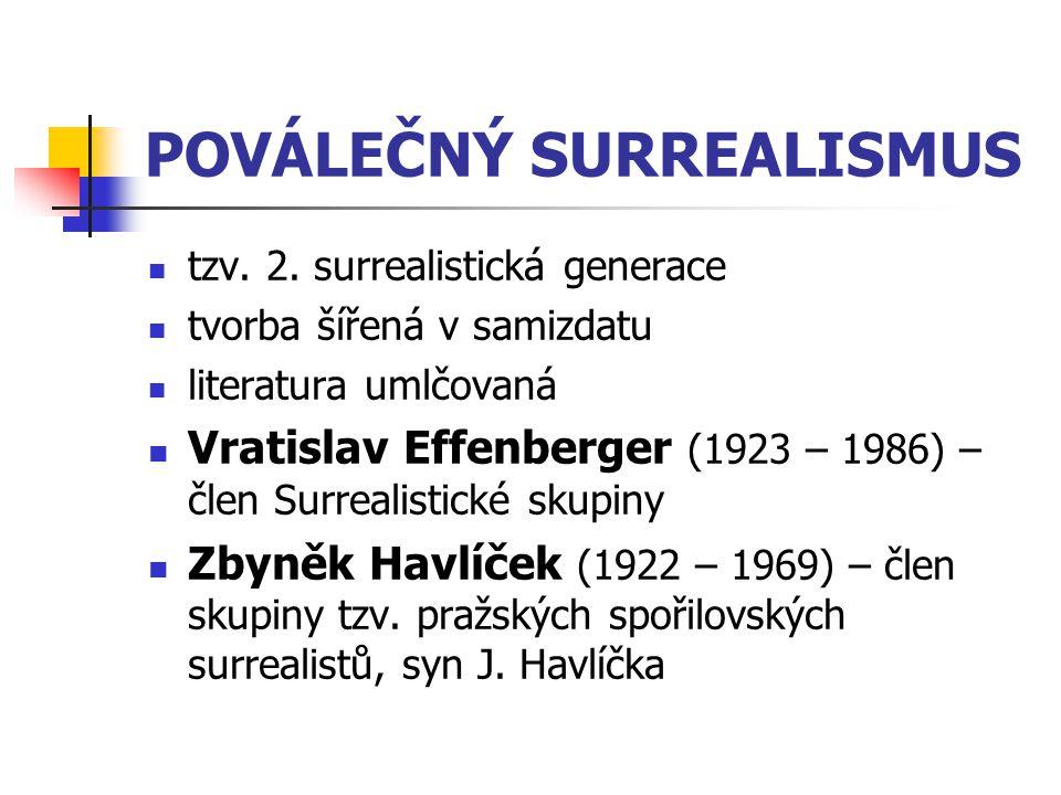 POVÁLEČNÝ SURREALISMUS