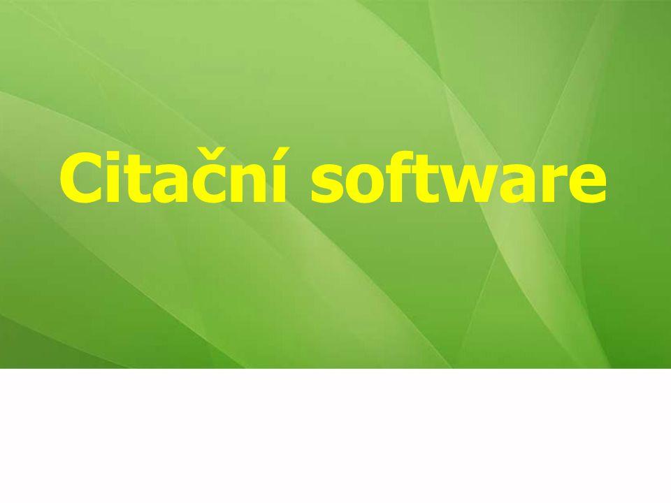 Citační software 60