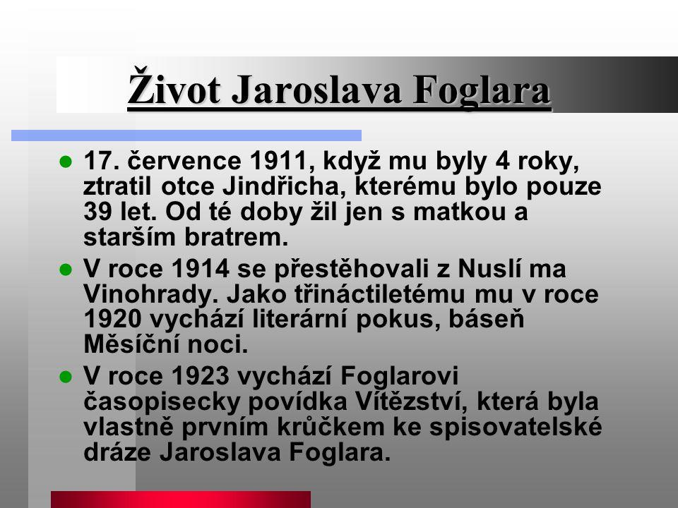 Život Jaroslava Foglara