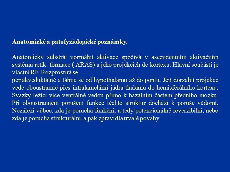 Anatomické a patofyziologické poznámky.
