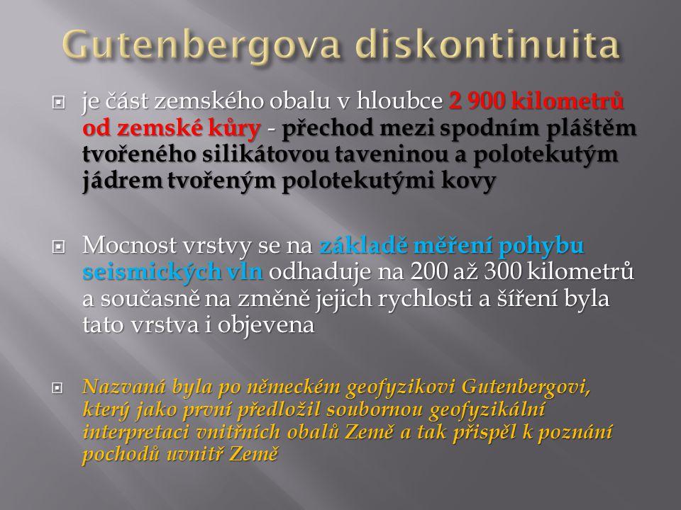 Gutenbergova diskontinuita