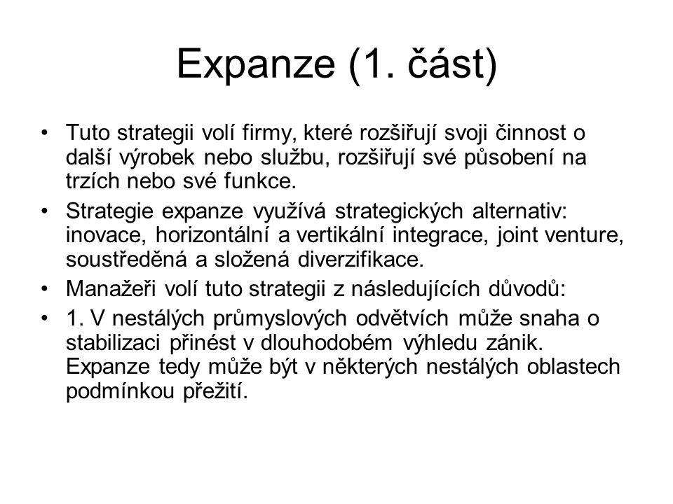 Expanze (1. část)