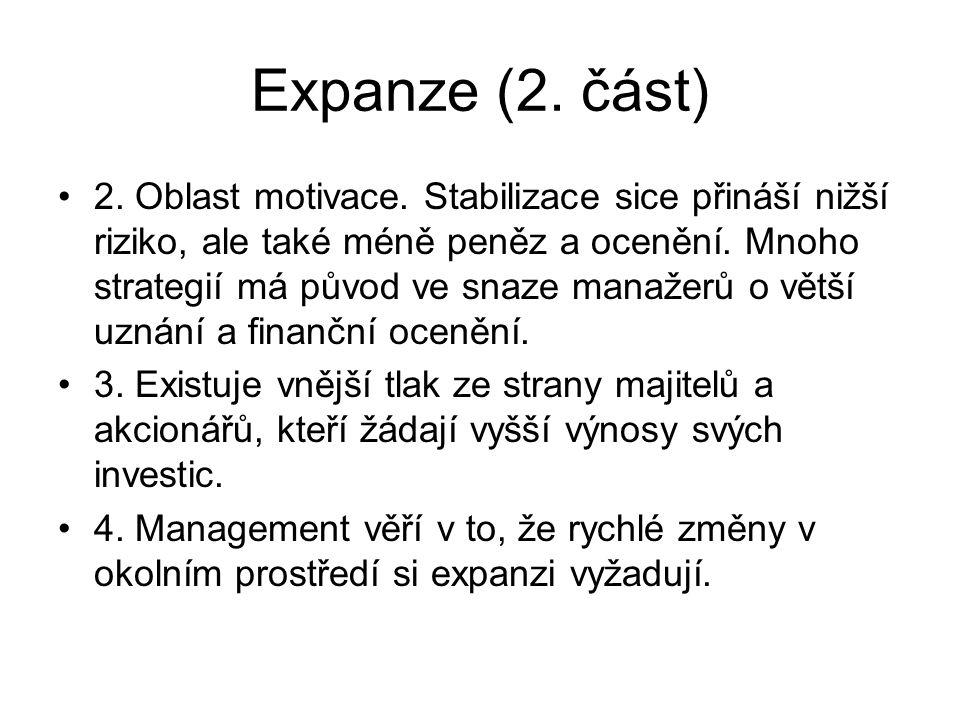 Expanze (2. část)