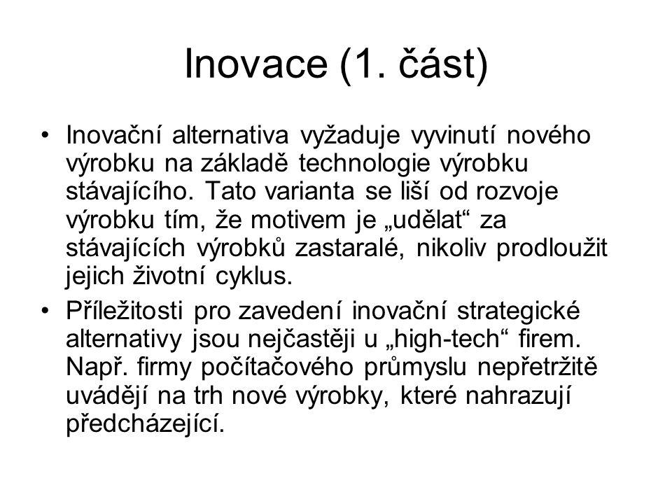 Inovace (1. část)