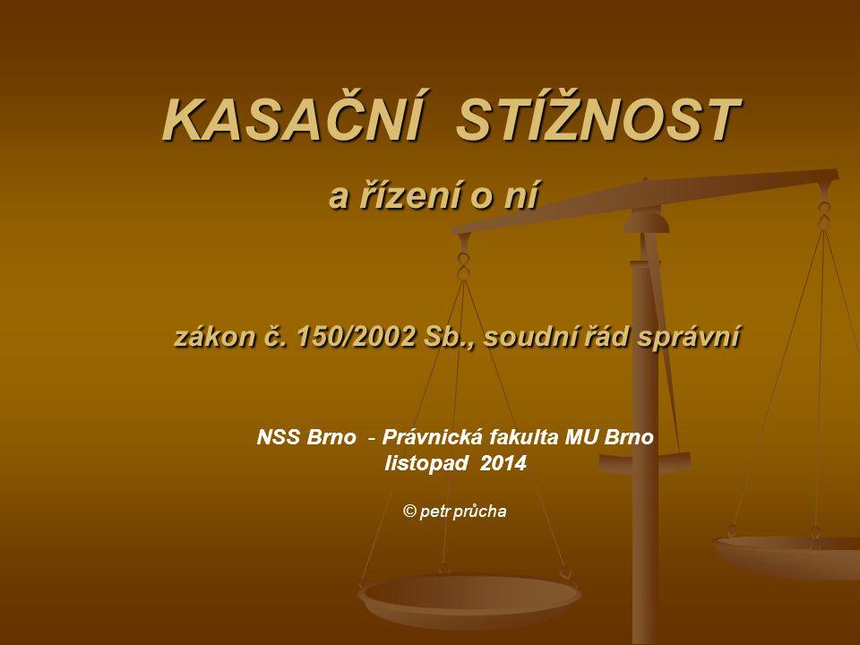 NSS Brno - Právnická fakulta MU Brno