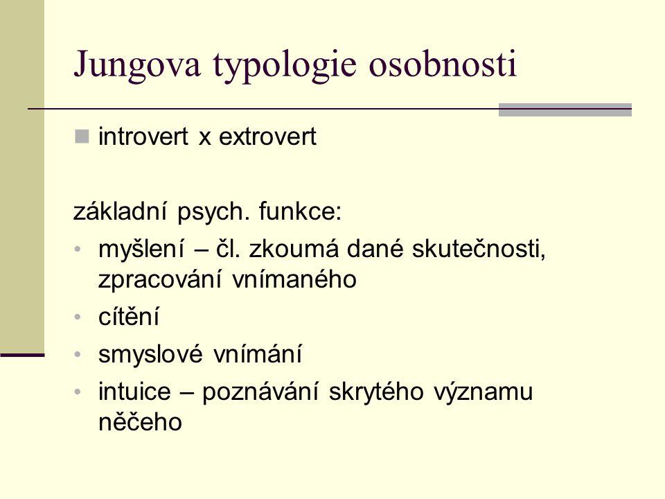 Jungova typologie osobnosti