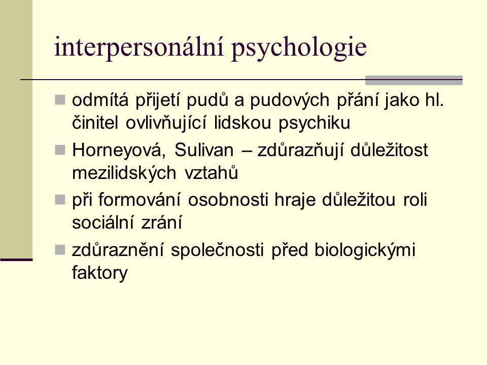 interpersonální psychologie