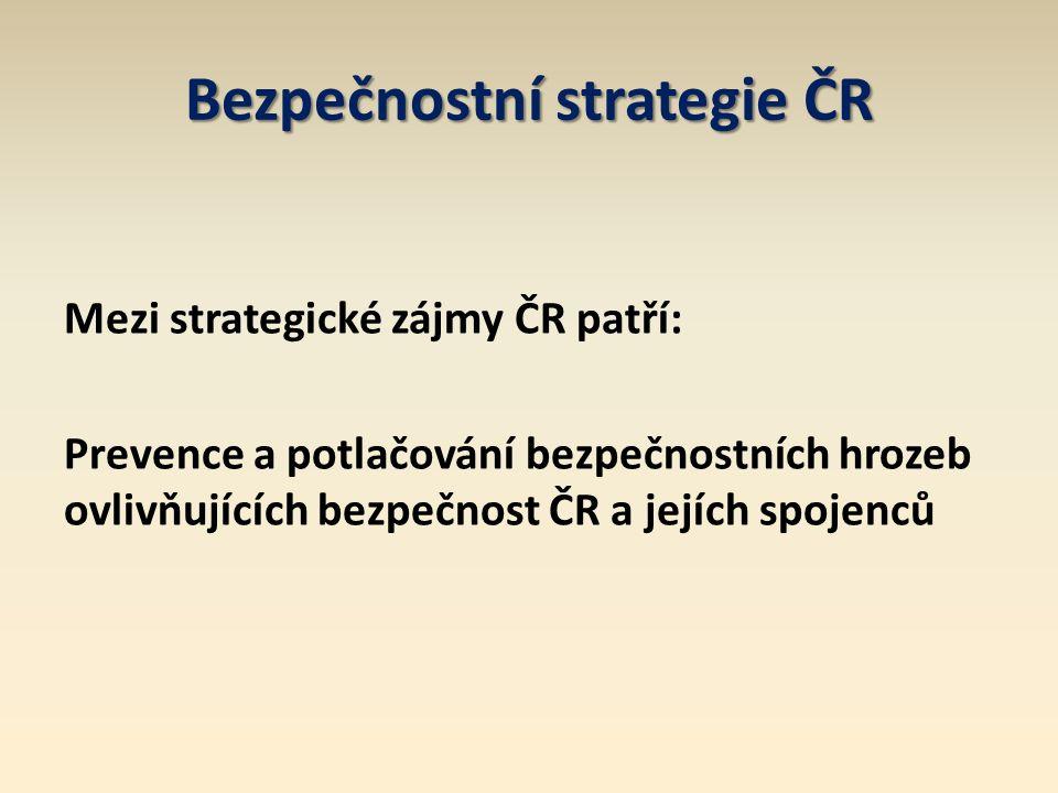 Bezpečnostní strategie ČR