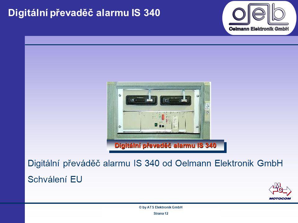 Digitální převaděč alarmu IS 340
