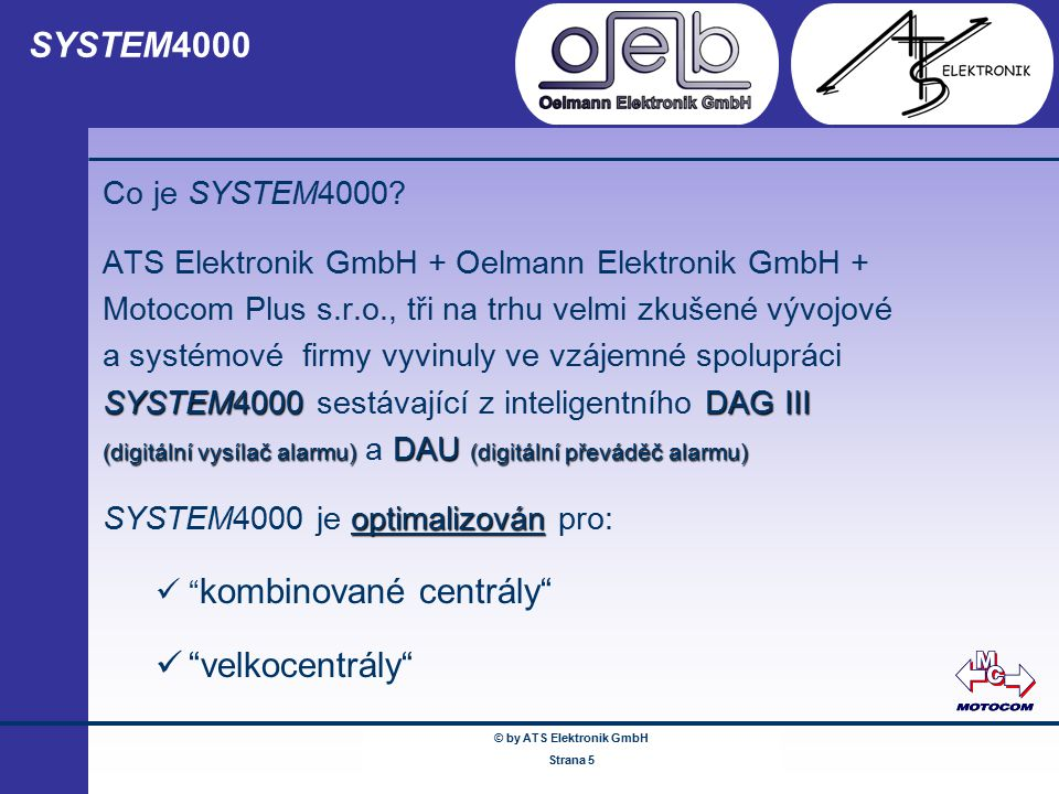 © by ATS Elektronik GmbH Februar 2005 © by ATS Elektronik GmbH