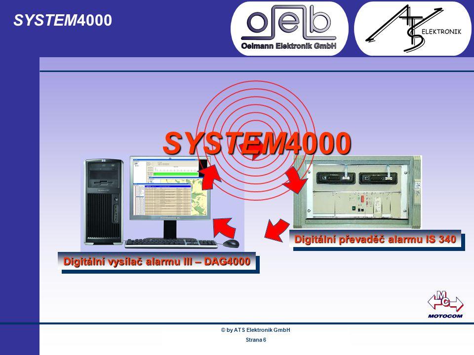 SYSTEM4000 SYSTEM4000 Digitální převaděč alarmu IS 340