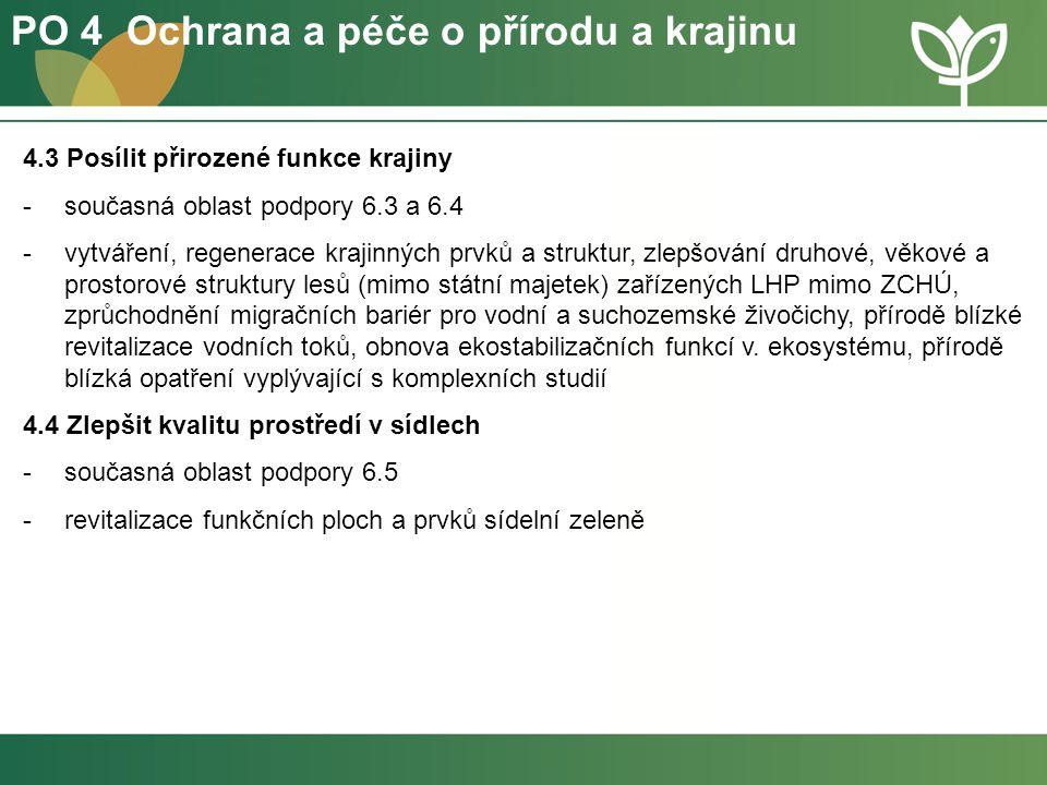 PO 4 Ochrana a péče o přírodu a krajinu