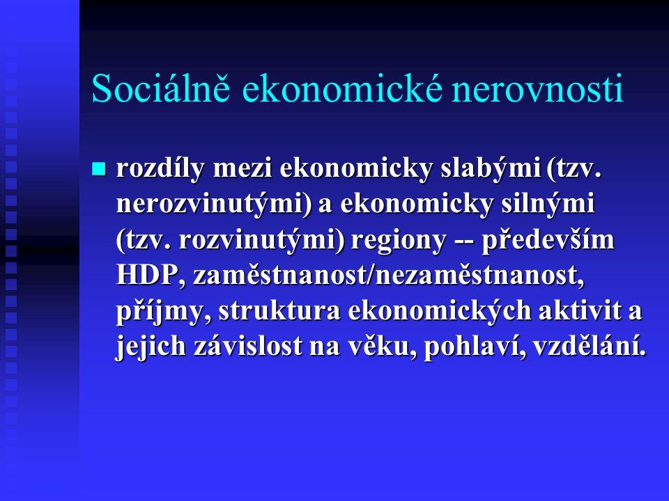 Sociálně ekonomické nerovnosti