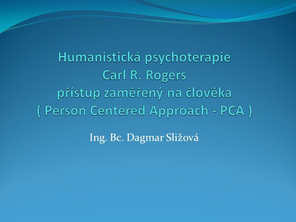Humanistická psychoterapie Carl R